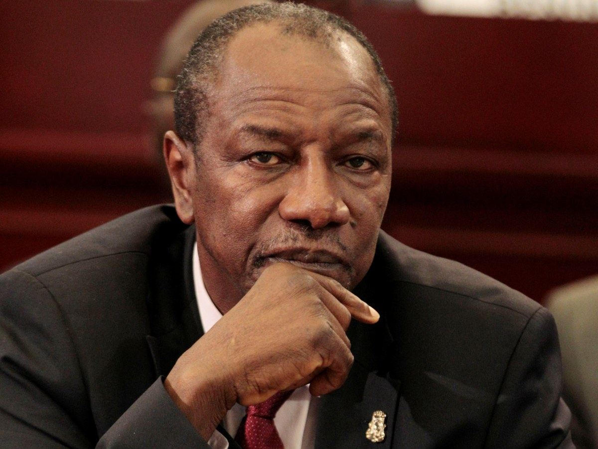 Alpha Conde of Guinea