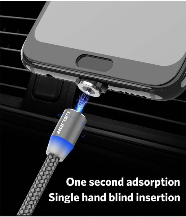 2.4A Type C Cable Magnetic Micro USB Cable Smartphone 12