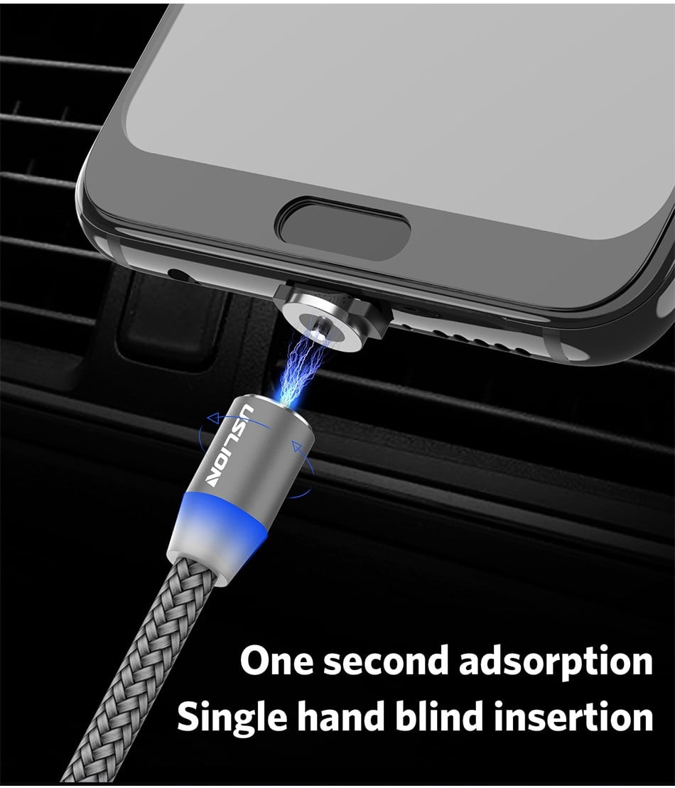 2.4A Type C Cable Magnetic Micro USB Cable Smartphone 11