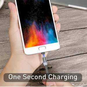 2.4A Type C Cable Magnetic Micro USB Cable Smartphone 26