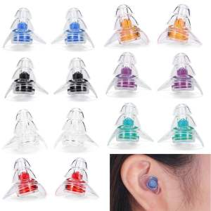 New 3-layer Earplug for Hearing Protection Beauty & Health 3