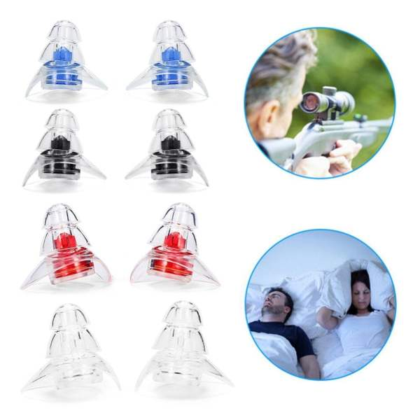 New 3-layer Earplug for Hearing Protection Beauty & Health 9