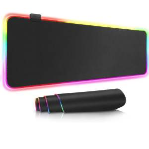 RGB Gaming Mouse Pad Computers & Tablets 2
