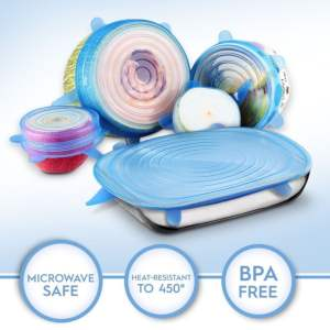 Microwave Cover Silicone Lids Kitchen 19