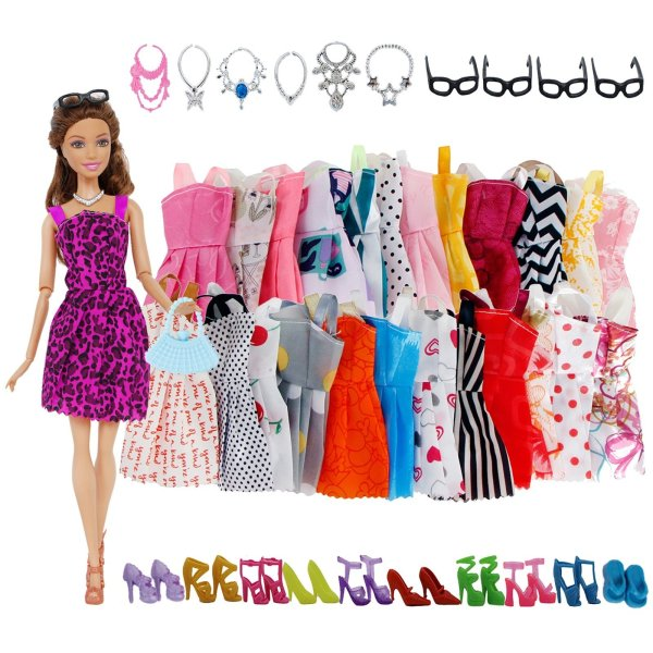 Doll Accessories Barbie Doll Clothes Toys 3