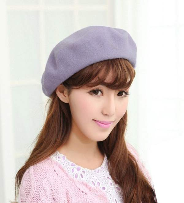 Beret Hat French Cap Women's Clothing & Accessories 13