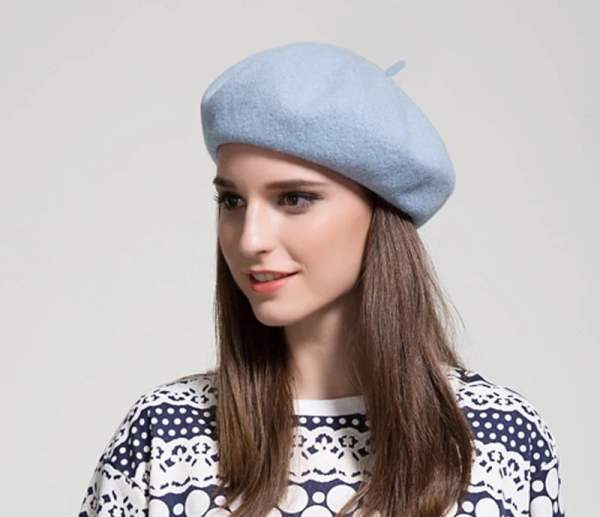 Beret Hat French Cap Women's Clothing & Accessories 7