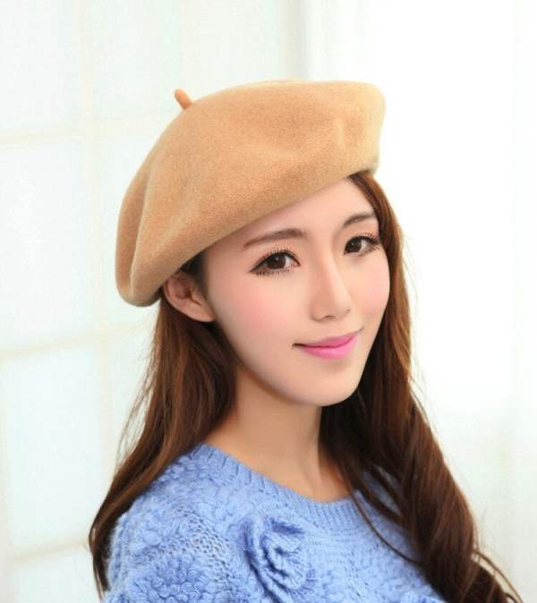 Beret Hat French Cap Women's Clothing & Accessories 12