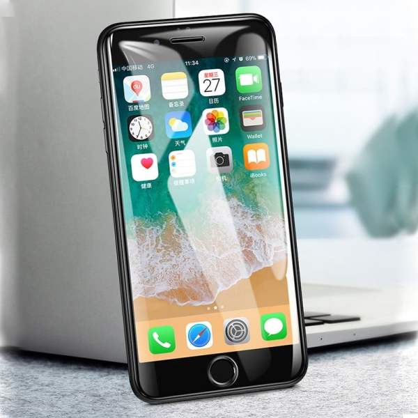 New 6D Curved Tempered Glass for iPhone Screen Protection Smartphone 3