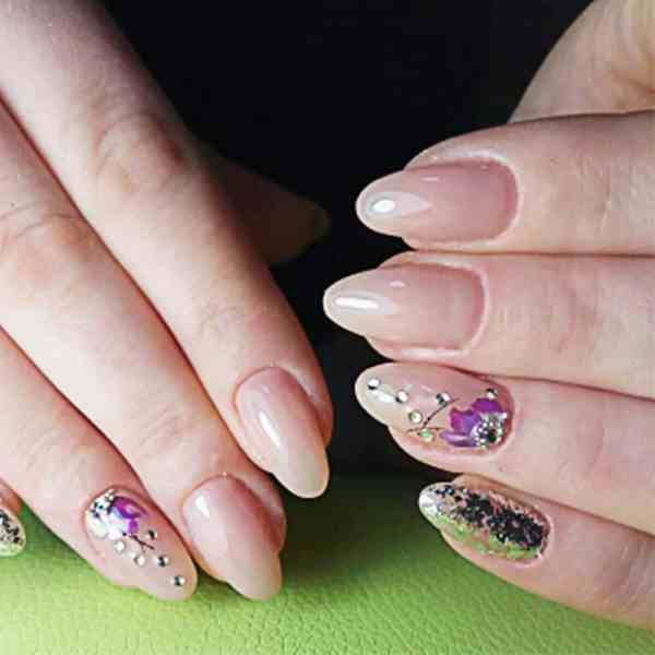 Flower Water Transfer Nail Stickers Beauty & Health 9
