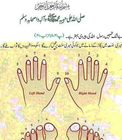 How cut nails according sunnah