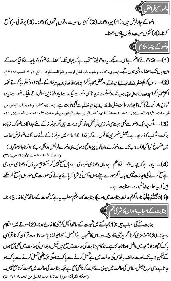Wudu: Faraiz, Ahkam Aur Janabat Ka Sharai Hukam