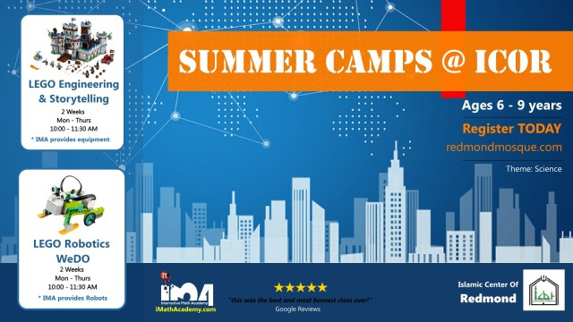 Summer Camp @ ICOR – Interactive Math Academy Bellevue