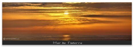 Ara  Solis Mar de Fisterra, Comprar fotografía de Galicia Paisaxes Galegas Posta de Sol Mar de Fisterra Decoración Natureza