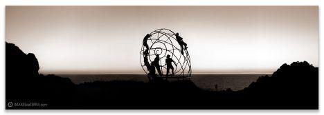 Caracola Cabo Home, Comprar fotografa paisaxe Galicia Posta de Sol decoración