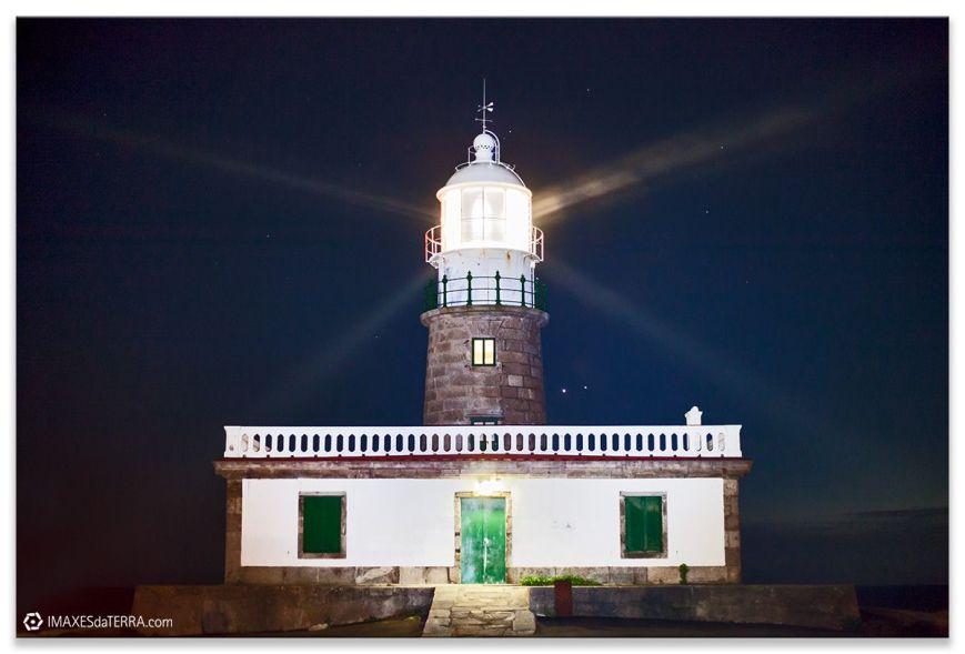 Faro de Corrubedo, Comprar fotografía Faros de Galicia Faro de Corrubedo Planetas Venus y Júpiter Naturaleza Decoración Paisajes