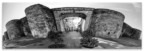 Comprar fotografía de Galicia Muralla de Lugo Decoración Panorámica