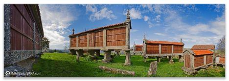 Comprar fotografía Galicia Filgueira Cerdedo Pontevedra Hórreos Decoración paisajes naturaleza Eira dá Hermida