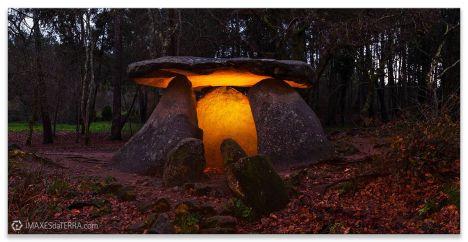 Casa da Moura de Axeitos, fotografías de Galicia