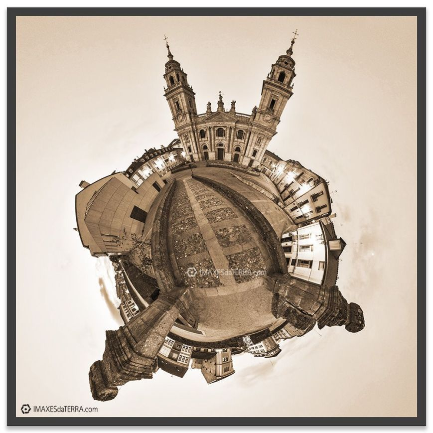 Planeta Catedral Lugo, fotografías de Galicia