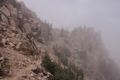 Lamarck Col trail