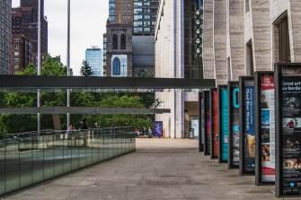 Thursday Morning - Walking to work, Lincoln Center