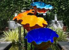 Saturday Morning - Chihuly at the Botanical Gardens, Haupt Conservatory