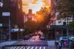 Saturday Evening - Down 85th Street