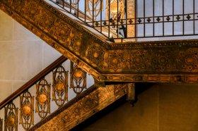 Saturday night at the Met - Stairs