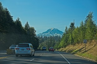 On the way to Mt Rainier