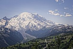 Mt Rainier from the Dege Peak Trail