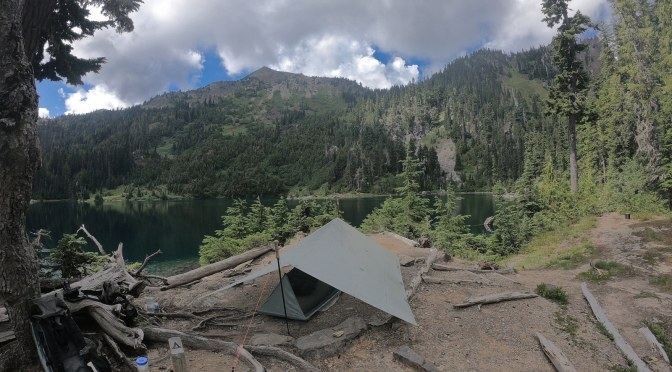 Upper Lena Lake overnight