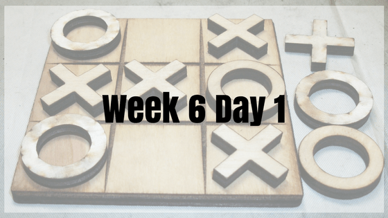 Week 6 Day 1 – jQuery Games!