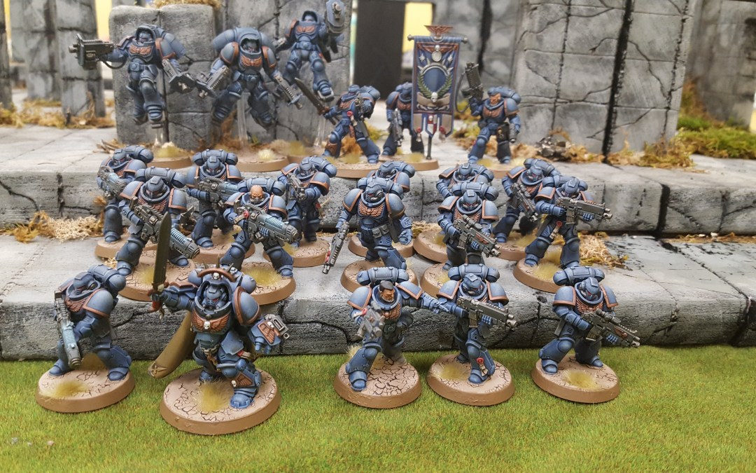 Warhammer 40k Primaris Marines Painting Guide