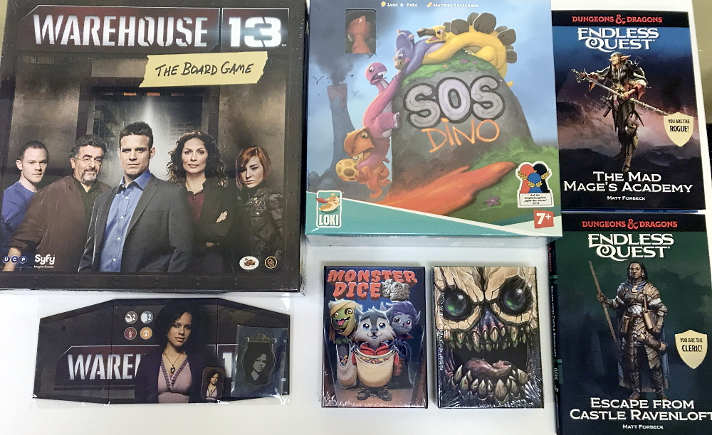 The New Game Shelf Has a Little For Everyone Today!