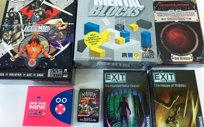Three Dragon Ante is Back, New Exits, and More New Games!