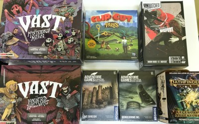 Vast: Mysterious Manor KS has Arrived! Plus Many More Cool Games!