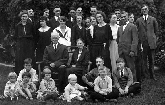 McKamey family c. 1920
