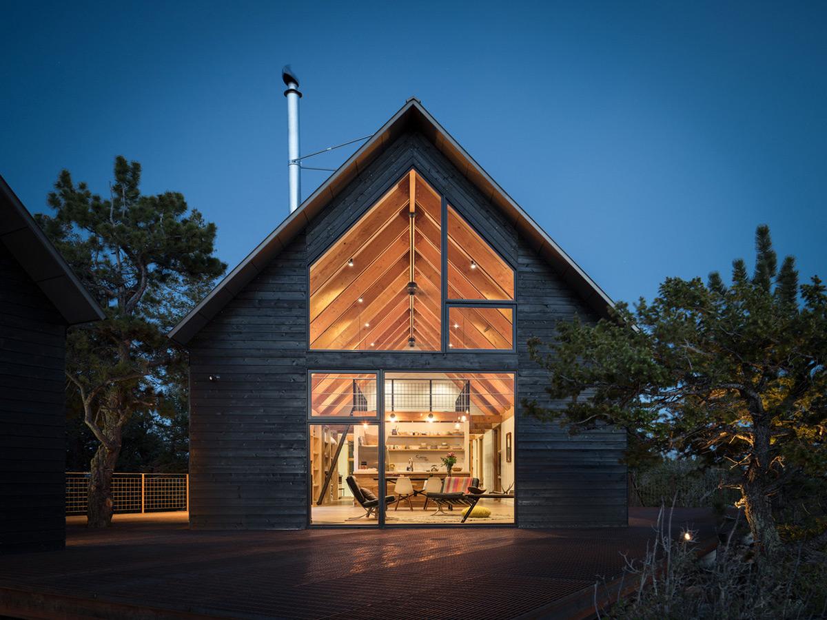 Big Cabin Little Cabin By Rene Del Gaudio Architecture
