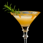 Caramelized Pear-tini