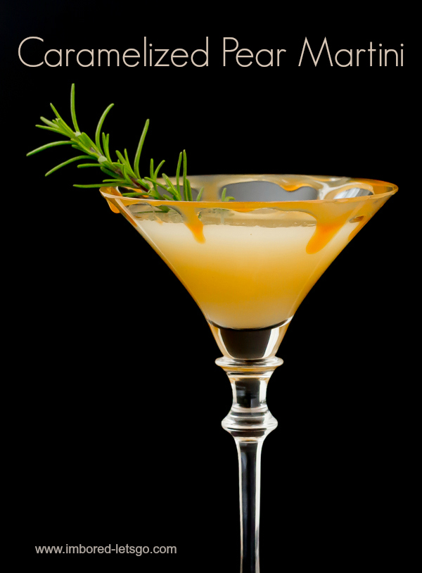 Caramelized Pear Martini