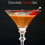 Chocolate Covered Cherry-tini