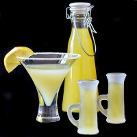 Limoncello is delicious chilled and sipped on by itself or added to a Lemon Drop martini
