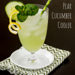 Pear Cucumber Cooler