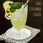 Pear Cucumber Cooler