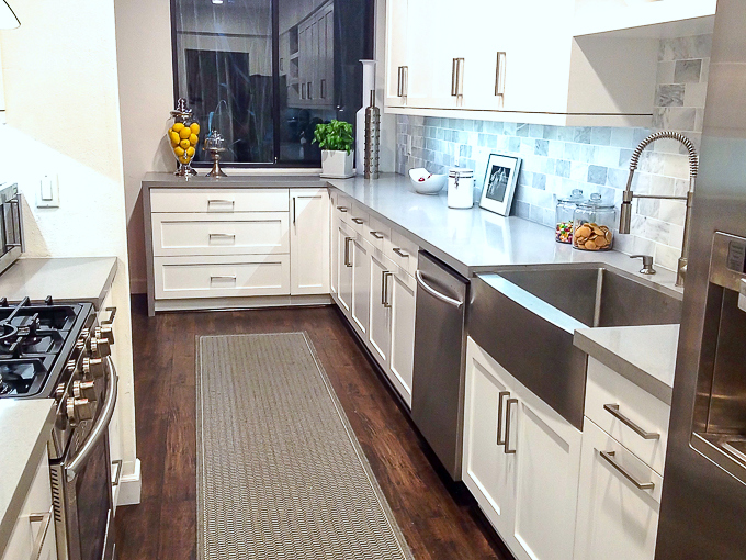 Condo Kitchen Renovation Before & After Photos