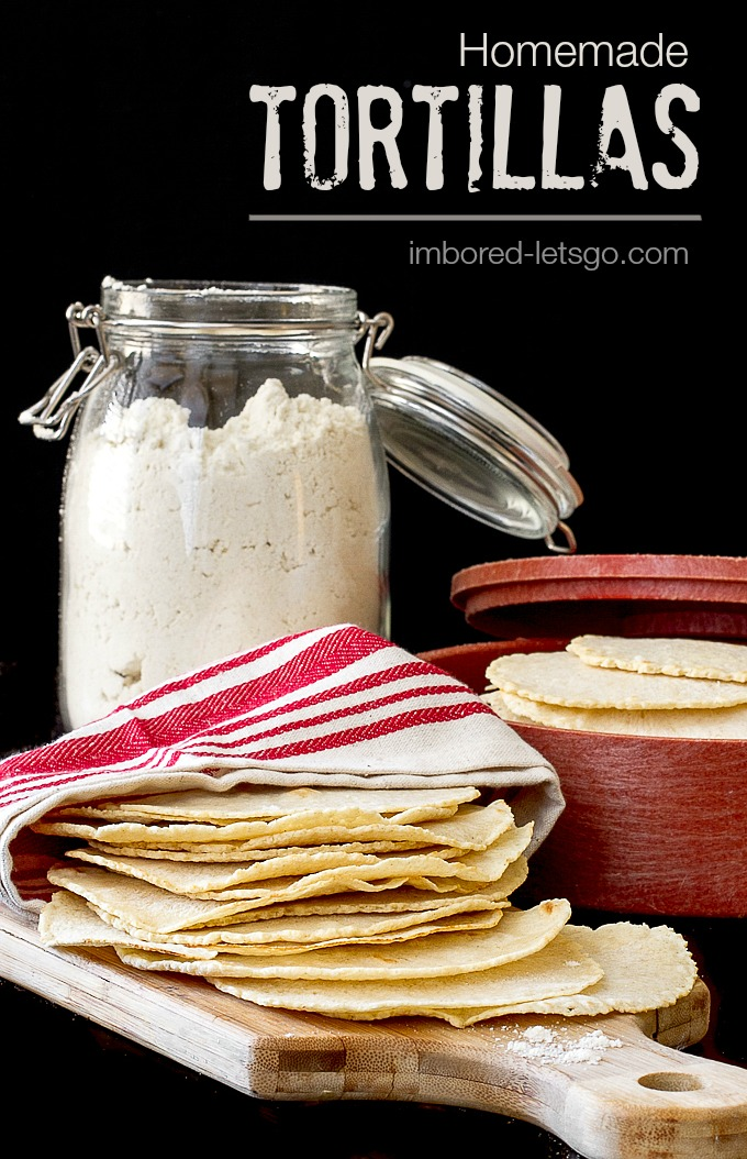 Homemade Tortillas are so fresh and easy!