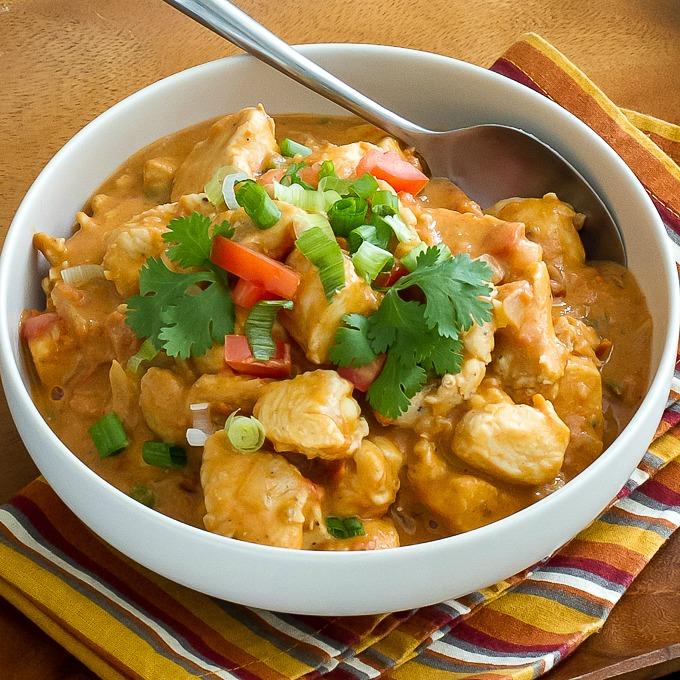 West African Chicken Ginger Peanut Stew