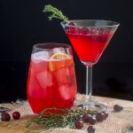 Cranberry Thyme Cocktail
