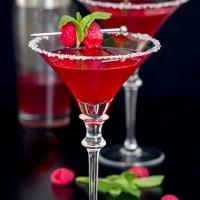 Berry Merry Christmas Martini